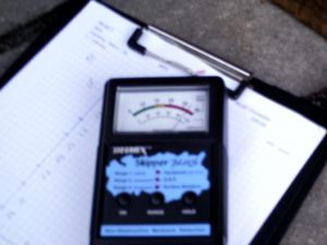 A moisture meter for non-destructive moisture measurement