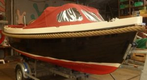 Aankoopkeuring van een sloep, type Interboat 19