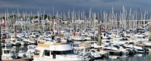 Various boats and yachts are offered for sale.